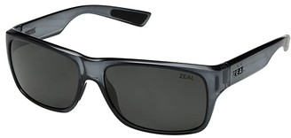 Zeal Optics Fowler (Black Gloss/Polarized Dark Grey Lens) Athletic Performance Sport Sunglasses