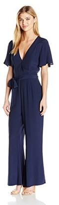Somedays Lovin Women's Harmony Rayon Surplice Jumpsuit