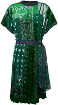 Sacai bandana dress - women - Polyester/Rayon - 1