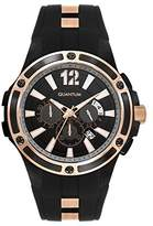 Quantum Hunter Men's Quartz Watch with Chronograph Quartz Silicone hng358.651