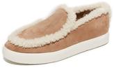 Vince Carlen Shearling Slip On Sneakers