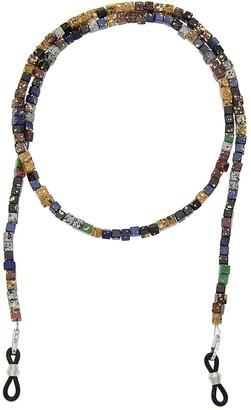 Kesheng Cubic Beaded Eyeglasses Chain Sunglasses Chain Strap 68cm for Women
