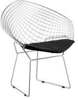 ZUO Set Of 2 Net Dining Chairs