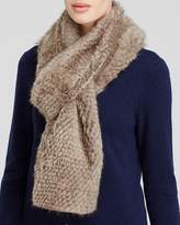 Maximilian Knitted Mink Scarf