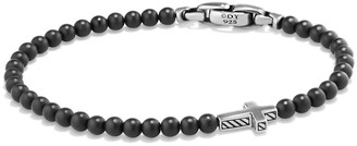David Yurman Spiritual Beads Cross Bead Bracelet with Semiprecious Stones