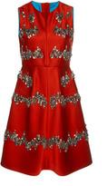 Dice Kayek Sleeveless Embellished Dress