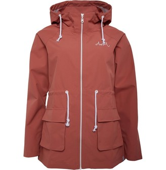 Animal Womens Water Resistant Jacket Red Pink