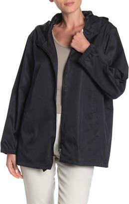 Jarbo Sateen Wrap Trench Jacket