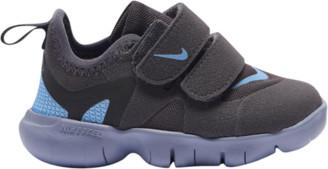 Nike Free Run 5.0 Running Shoes - Thunder Gray / Light Blue Stellar Indigo