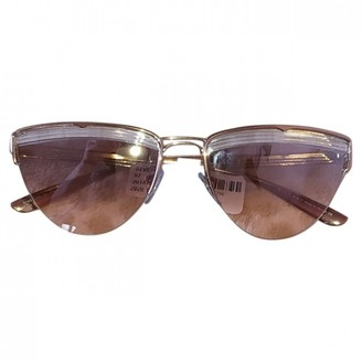 Bvlgari Pink Wood Sunglasses