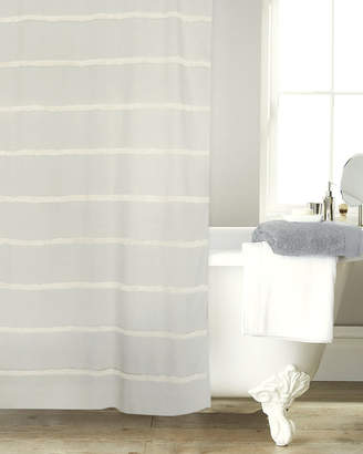 B. Smith Park Metro Farmhouse Stripe Tassel Cotton Shower Curtain