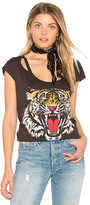 Chaser Tiger Tee in Black