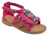 Just Buds Footwear Toddler Girl Tatiana Fringe Stone Sandal