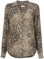 Equipment leopard print shirt - women - Silk - XS