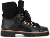 Ganni Edna wool-lined hiking boots