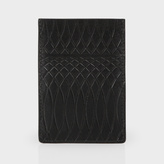 Paul Smith No.9 - Black Leather Credit Card Holder