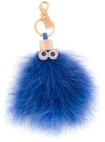 Sophie Hulme Romeo keyring - women - Feather/metal - One Size