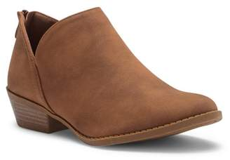 Top Moda Layover Low Ankle Bootie