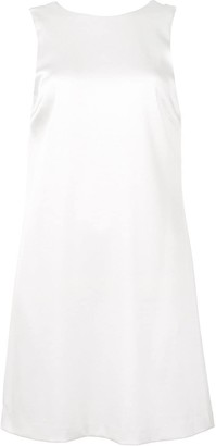 Alice + Olivia Draped-Back Mini Dress