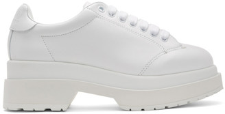 MM6 MAISON MARGIELA White Platform Derbys