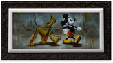 Disney Mickey Mouse and Pluto ''Man's Best Friend'' Limited Edition Giclée by Noah