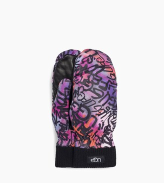 UGG Graffiti All Weather Mitten
