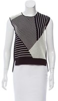 Timo Weiland Striped Sleeveless Sweater