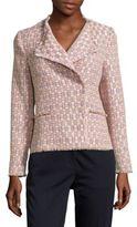 LK Bennett Heather Tweed Jacket