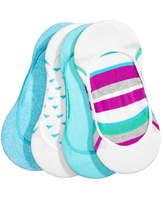 Hue 4-Pk. Low-Cut Liner Socks