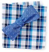 Original Penguin Hammond Dot Bow Tie and Pocket Square Set