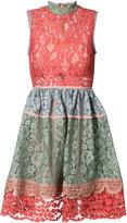 Alexis lace skater dress - women - Polyester/Spandex/Elastane/Acetate/Polyimide - M