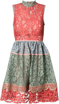 Alexis lace skater dress - women - Polyester/Spandex/Elastane/Acetate/Polyimide - XS