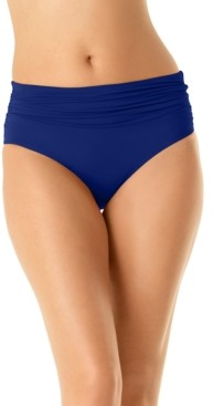 Anne Cole High-Waist Bikini Bottoms Women's Swimsuit