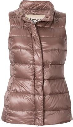 Herno padded zipped vest