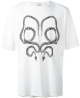 Saint Laurent snake print T-shirt