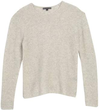 John Varvatos Tuck Stitched Long Sleeve Pullover