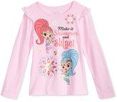 Nickelodeon Nickelodeon's Shimmer and Shine Graphic-Print Shirt, Little Girls (4-6X)