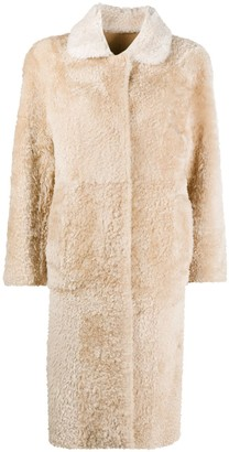 Sylvie Schimmel Reversible Shearling Long Coat