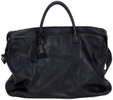 One Kings Lane Vintage 1990s Chanel Weekender Bag - Vintage Lux - black/gold