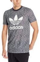 adidas Men's Essentials Allover Print Tee