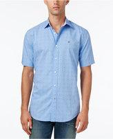 Tommy Hilfiger Men's Big & Tall Melvin Dobby Shirt