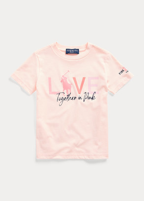 Ralph Lauren Pink Pony Graphic Tee