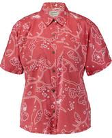 Current/Elliott The Western Davis Printed Chambray Shirt