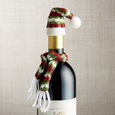 Crate & Barrel Wine Bottle Hat and Scarf