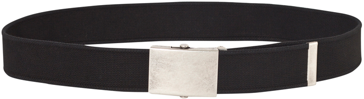 Levi's Black Canvas Logo Belt