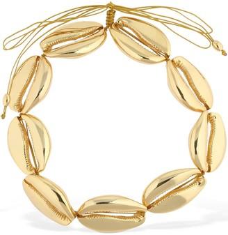 Tohum Design Mega Faux Puka Shell Necklace