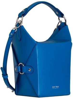 Jeff Wan Bucket Bag in Blue Le Morne Lunch Box