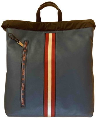 Bally Navy Leather Bags