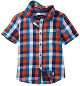 Lucky Brand Pier Woven Check Shirt (Little Boys)