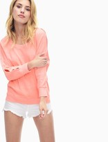Splendid Pigment Active Cut Out Pullover